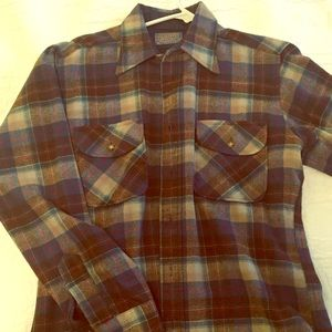 Pendleton Flannel Shirt - Men's M